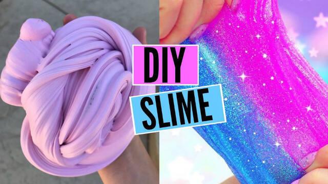 como fazer slimes em casa
