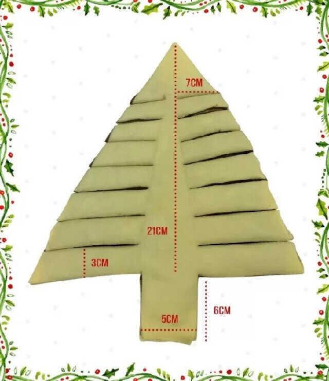 pão árvore de natal