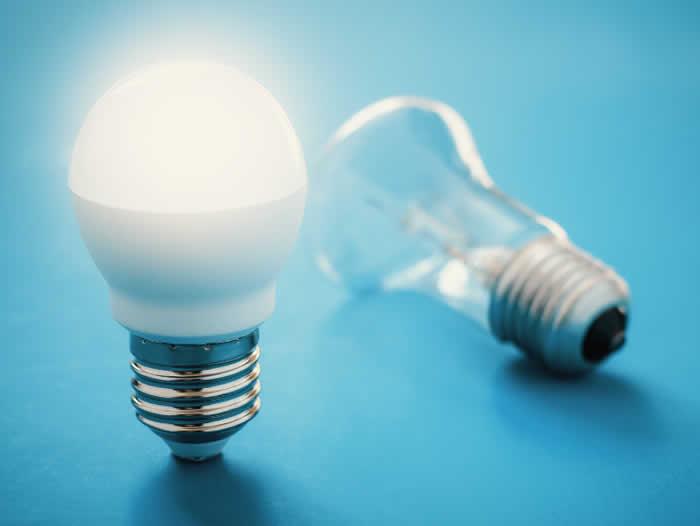 Economize energia com lâmpadas de LED
