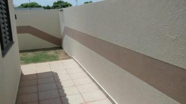 muro interno pintado
